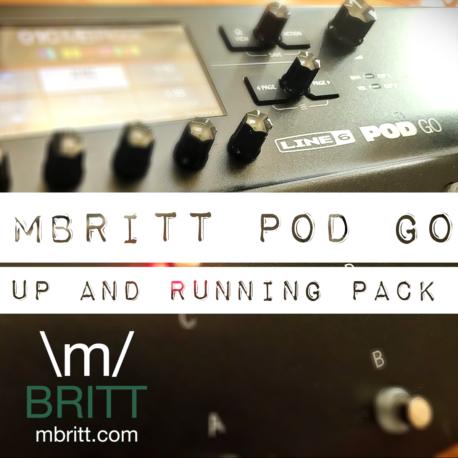 MBritt POD Go UAR Pack